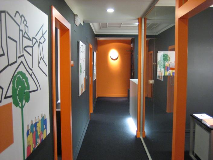 Pasillo despacho San José Abogados