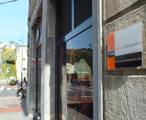Bilbao exteriores despacho